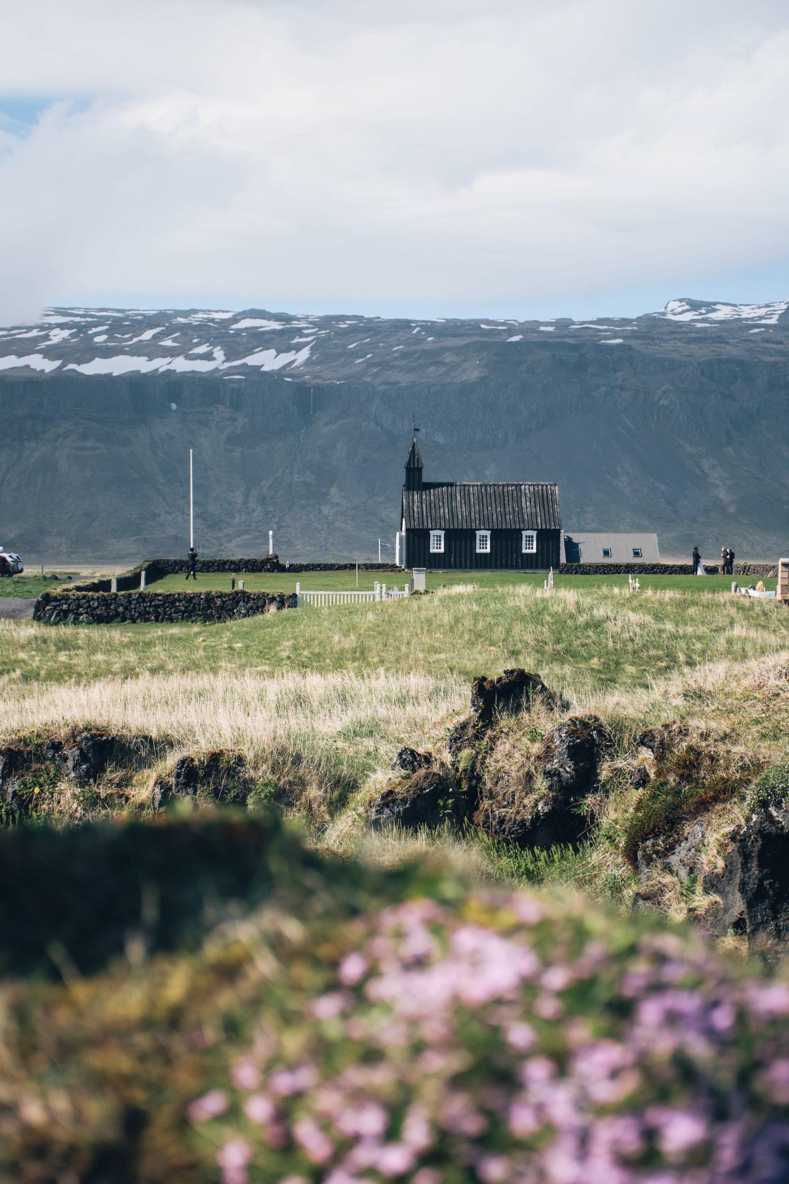 Búðakirkja Black Church - iceland - twins of journey
