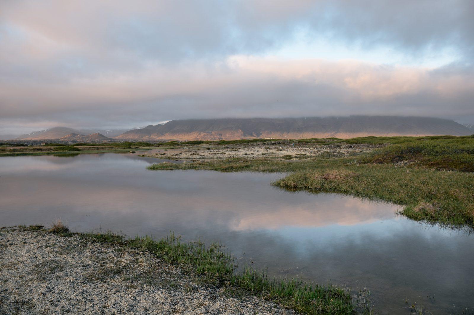 Landbrotalaug - iceland - twins of journey