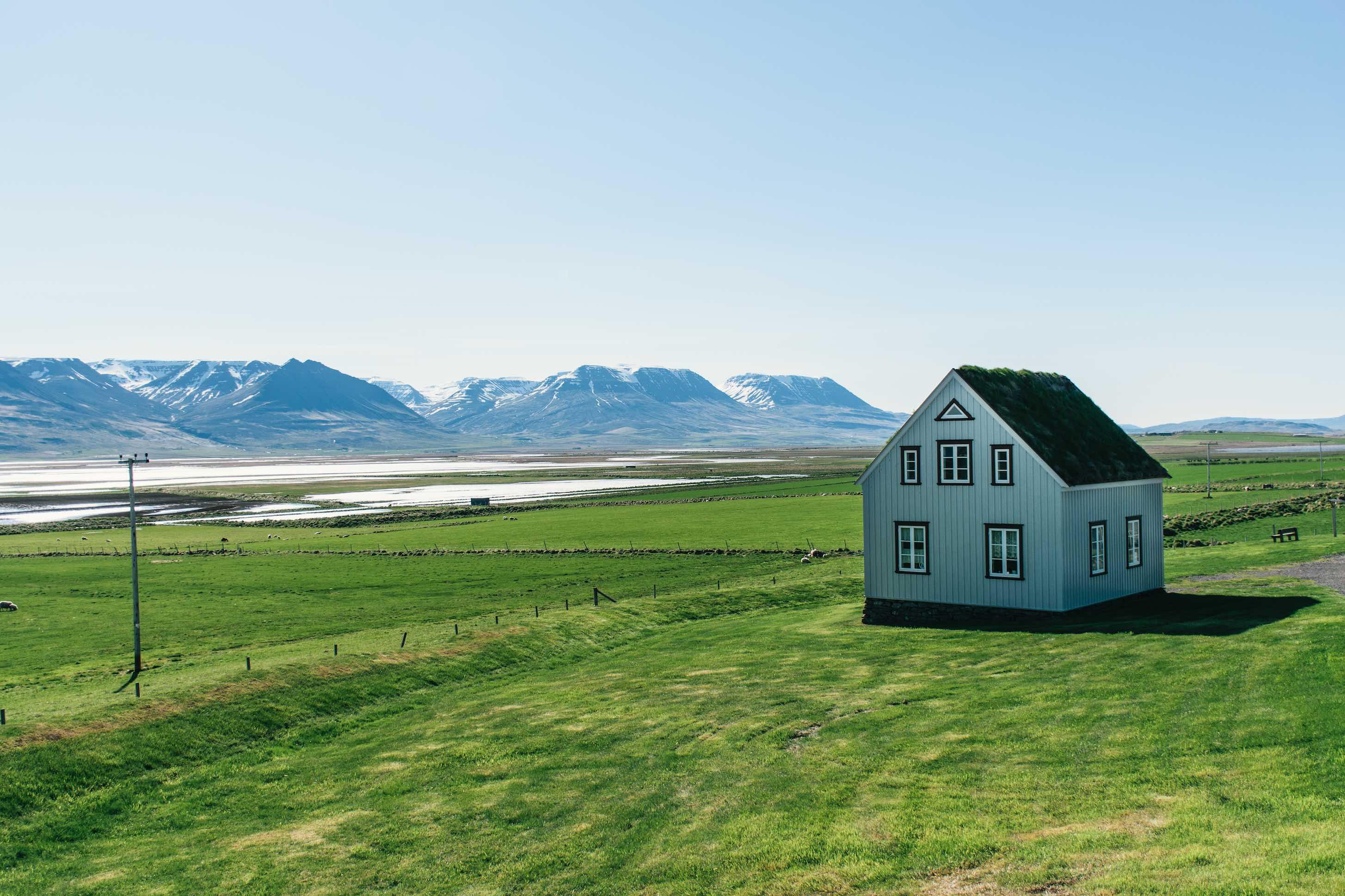 Glaumbær - iceland - twins of journey