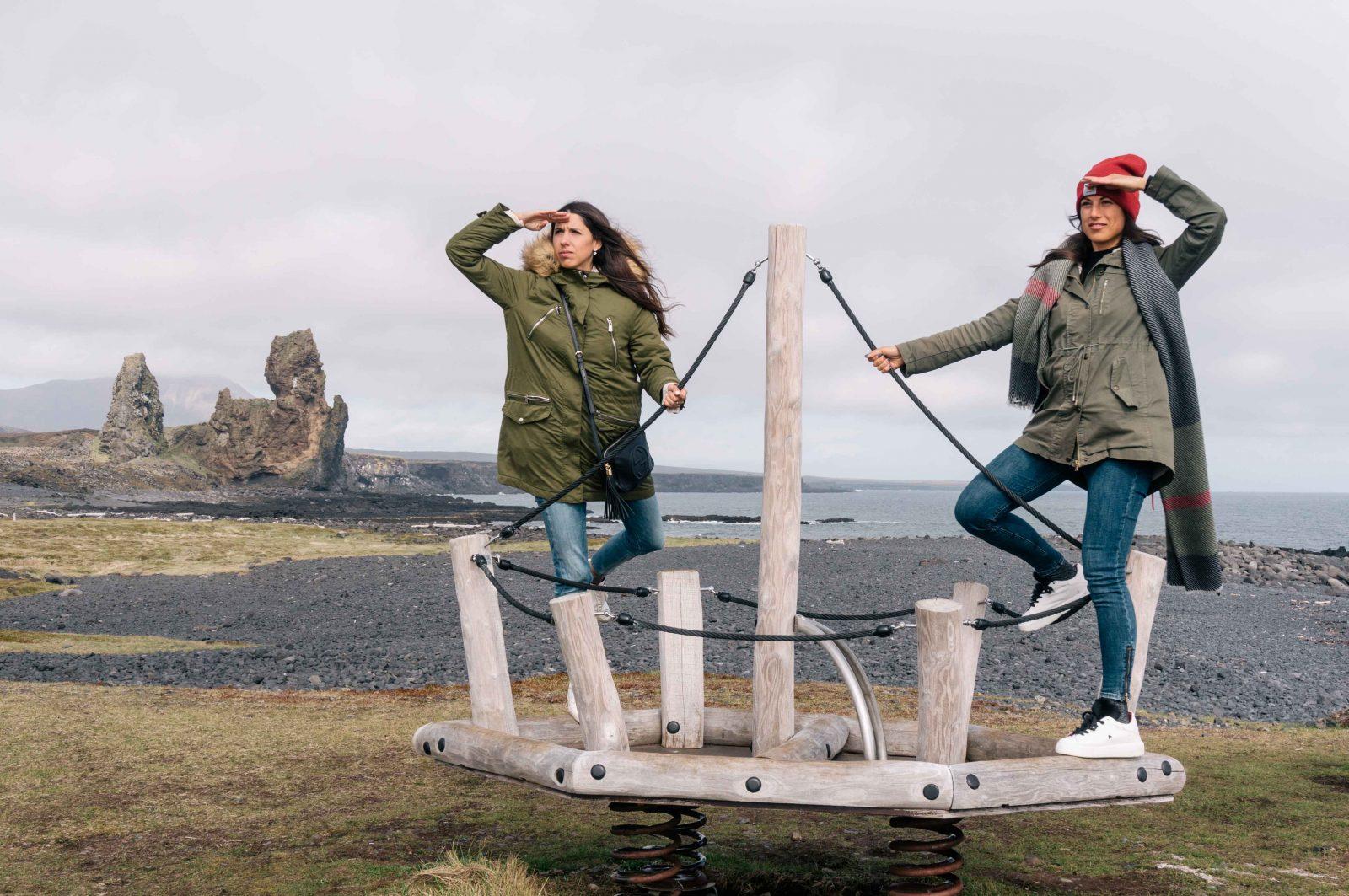 Londrangar - iceland - twins of journey