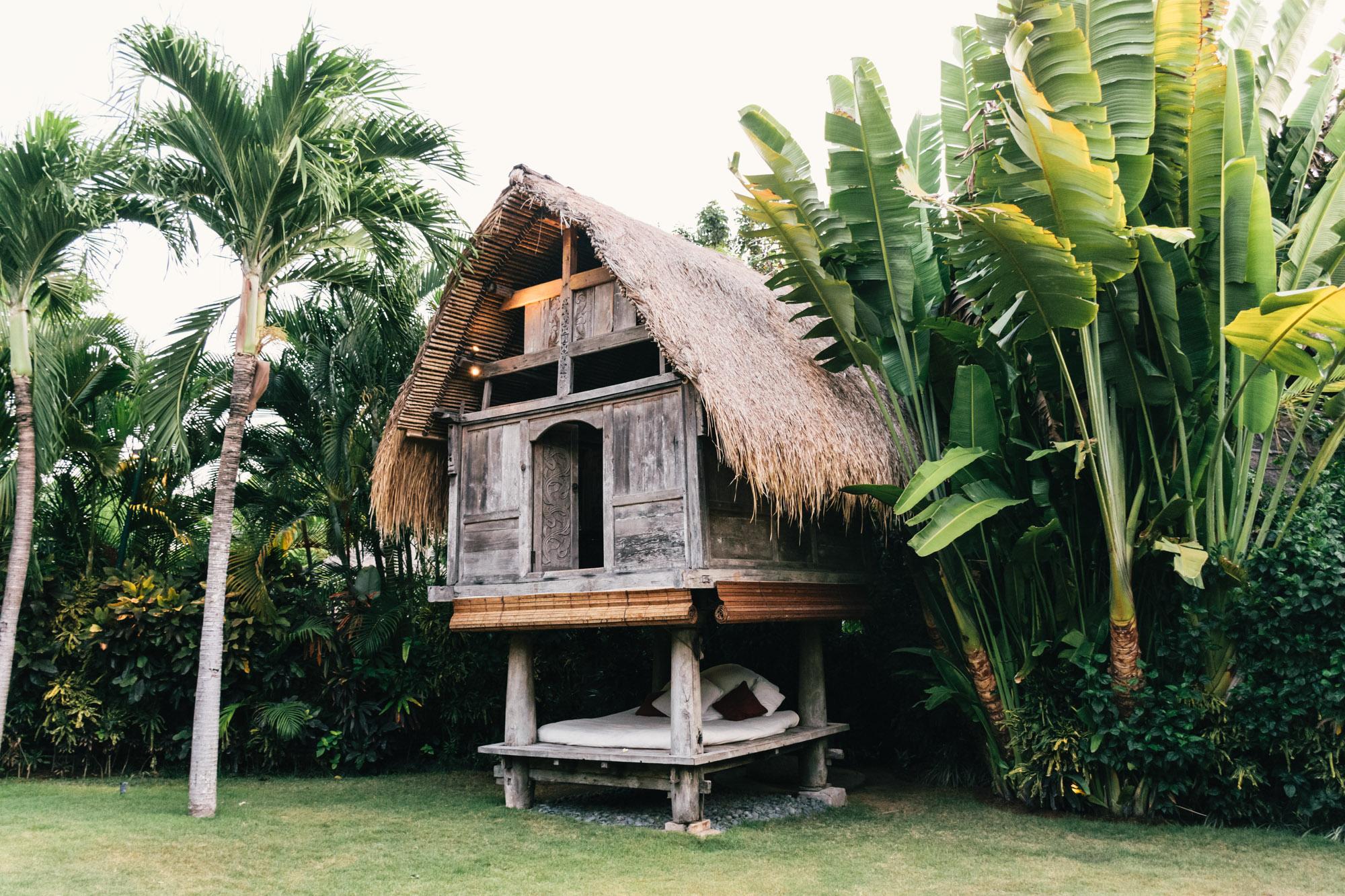 own villa