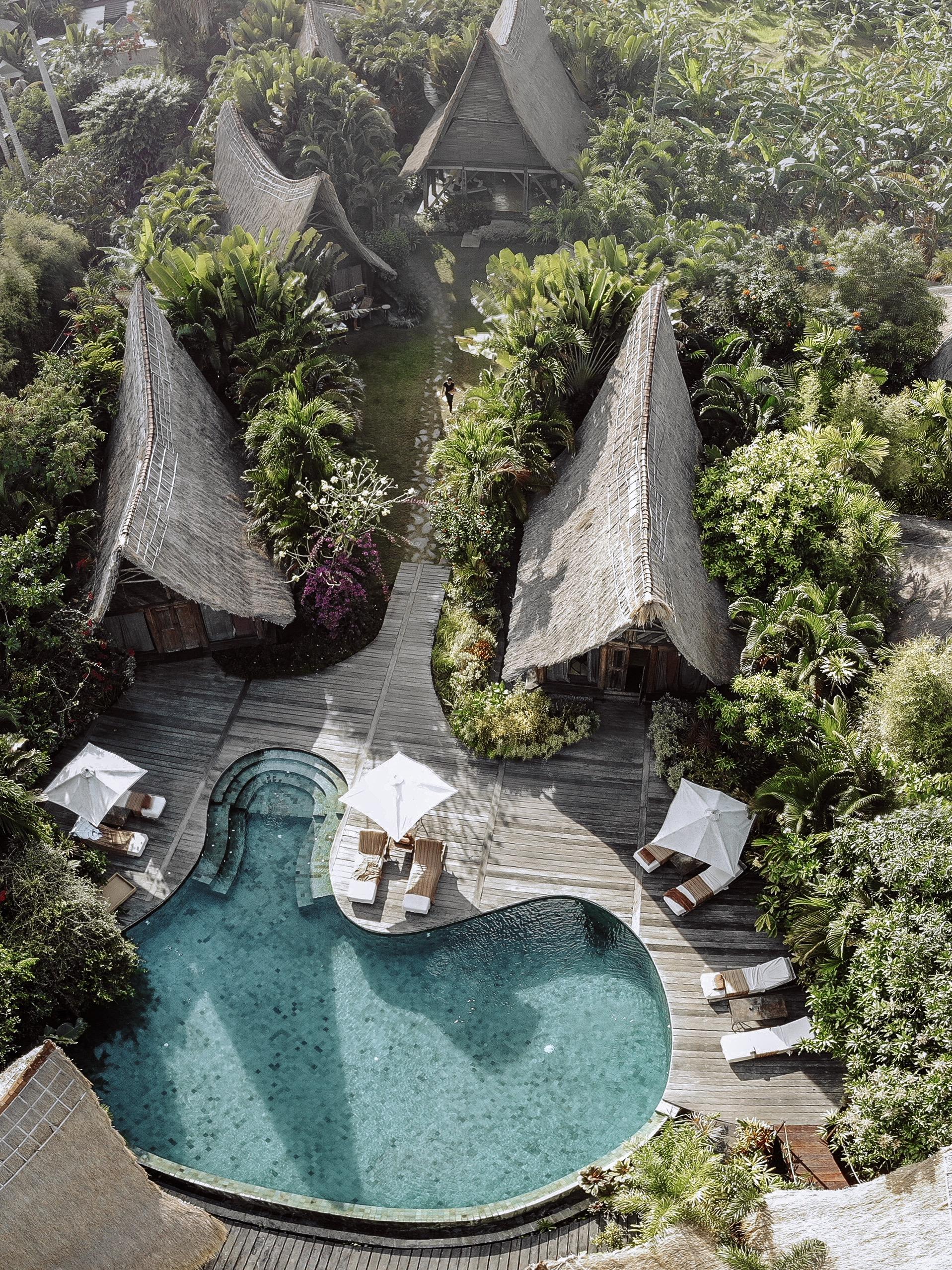 own villa by drone