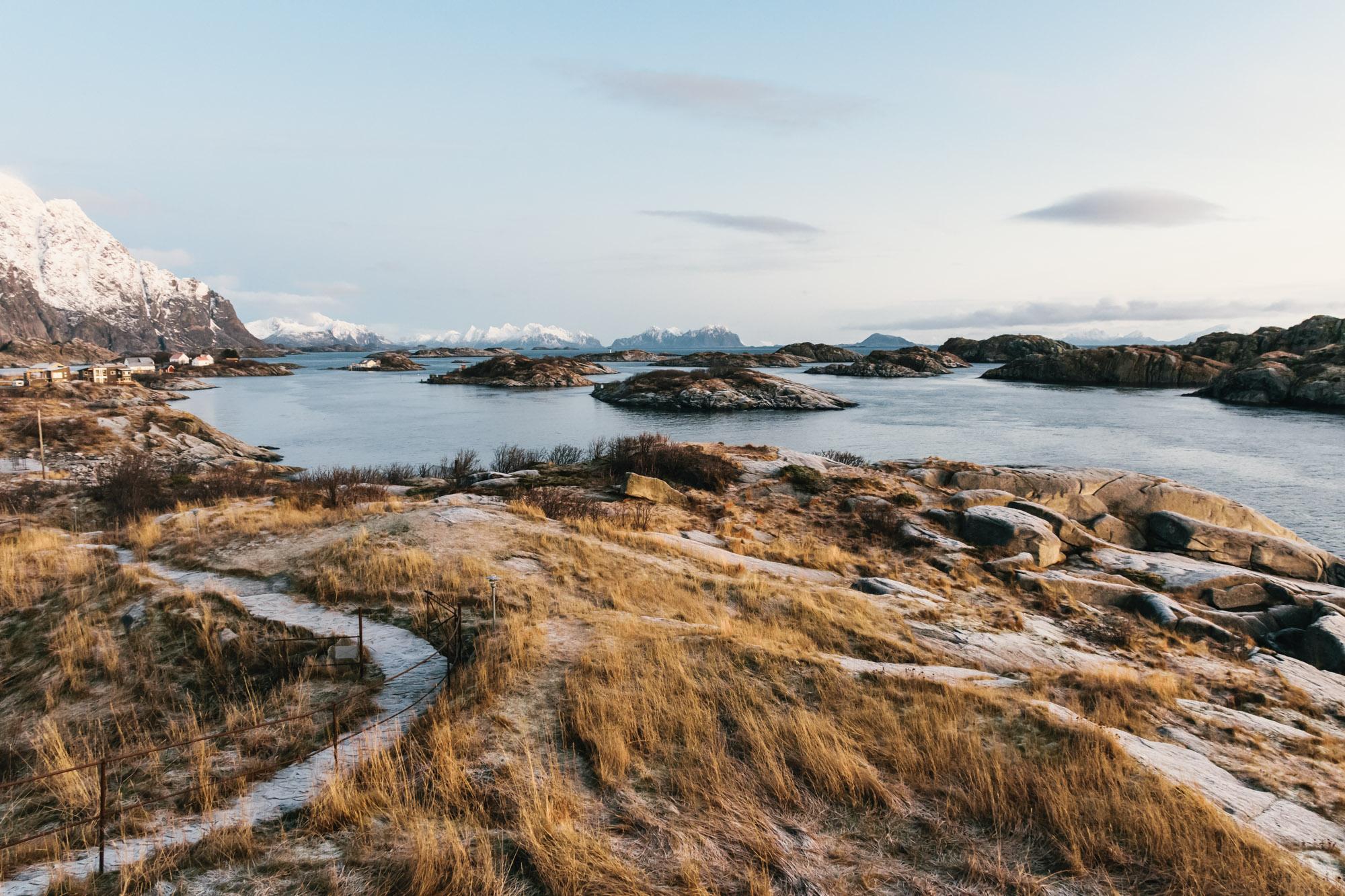Lofoten Islands Polar Night